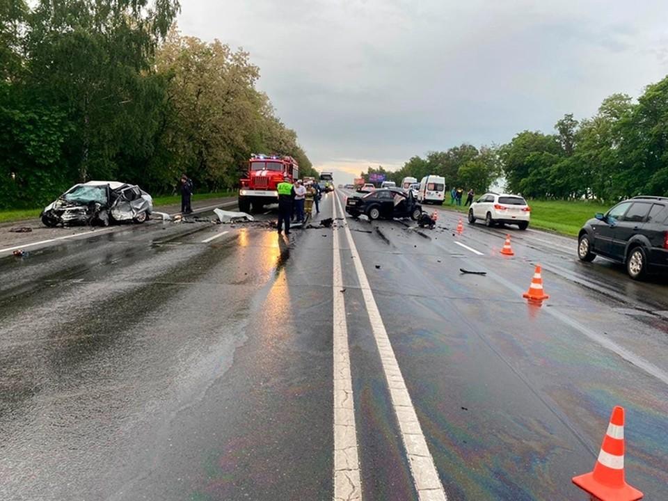 В ДТП под Белгородом погибли сразу четыре человека