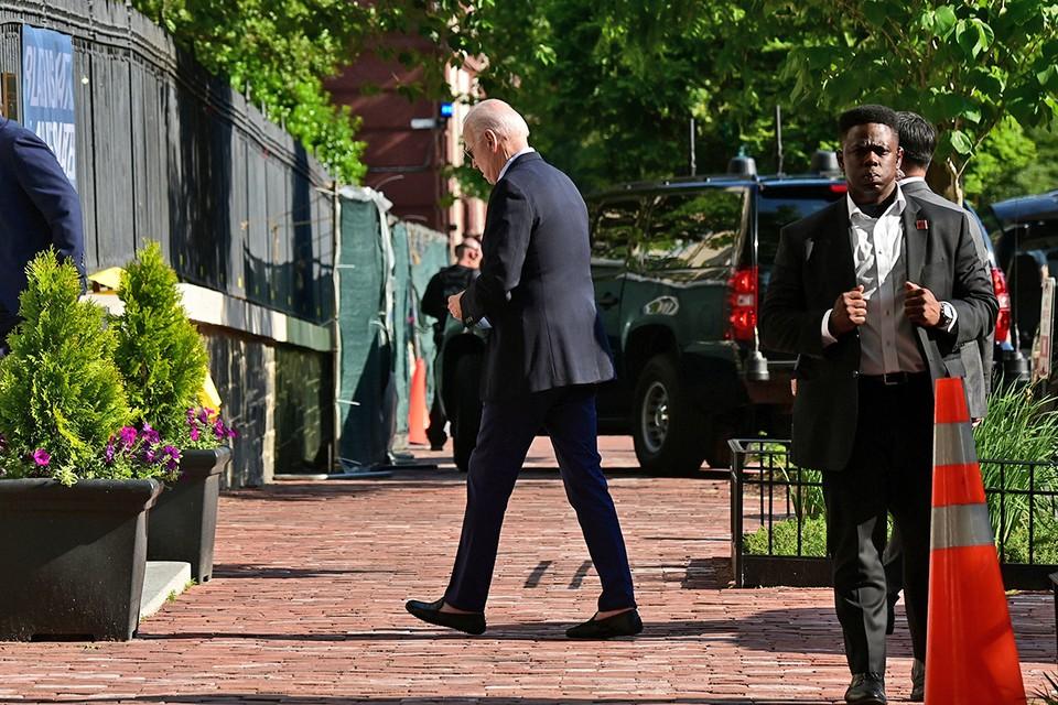 Самая серьезная служба охраны у американского президента Джо Байдена.