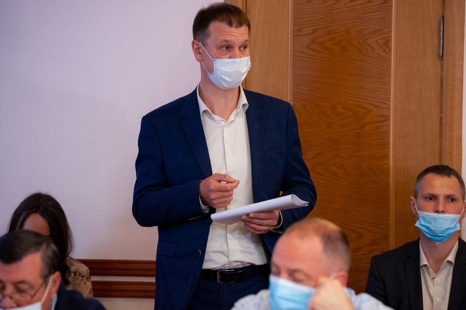 В горсовете Орла обсудили ситуацию с ремонтом Красного моста