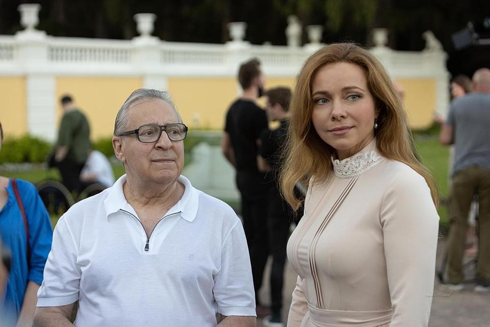 Гости премии - Екатерина Гусева и Геннадий Хазанов. Фото: Михаил Соколов