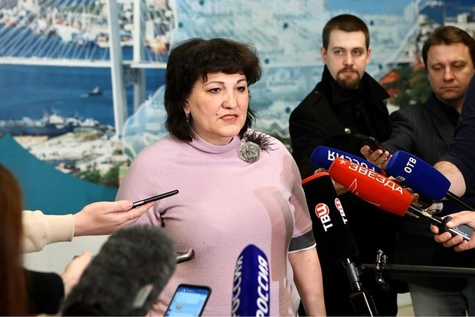 Татьяна Детковская. Фото: правительство Приморского края