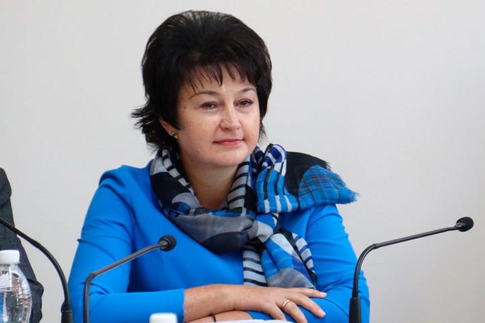 Ирина Долгова. Фото: пресс-службы правительства Алтайского края.