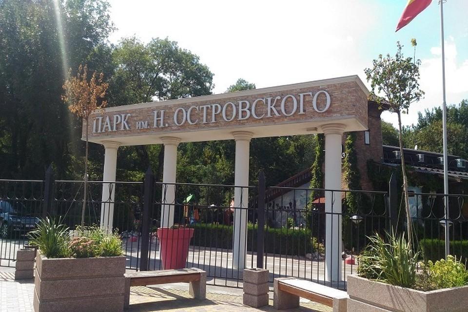 Парк им. Н. Островского ростовчане посчитали самым комфортным для прогулок. Фото: 2gis.