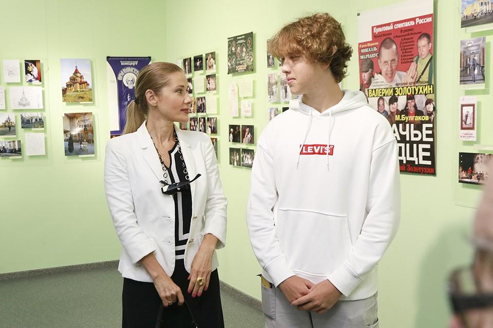 Ирина Линдт и Иван Золотухин в Барнауле