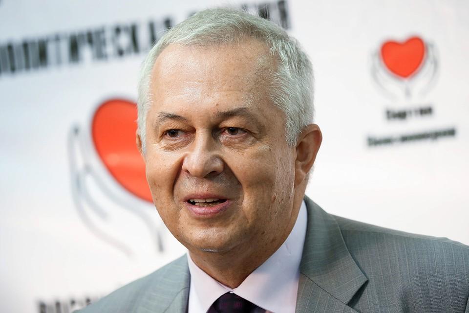 Председатель президиума Центрального совета Партии пенсионеров Владимир Ворожцов. Фото: Артем Геодакян/ТАСС