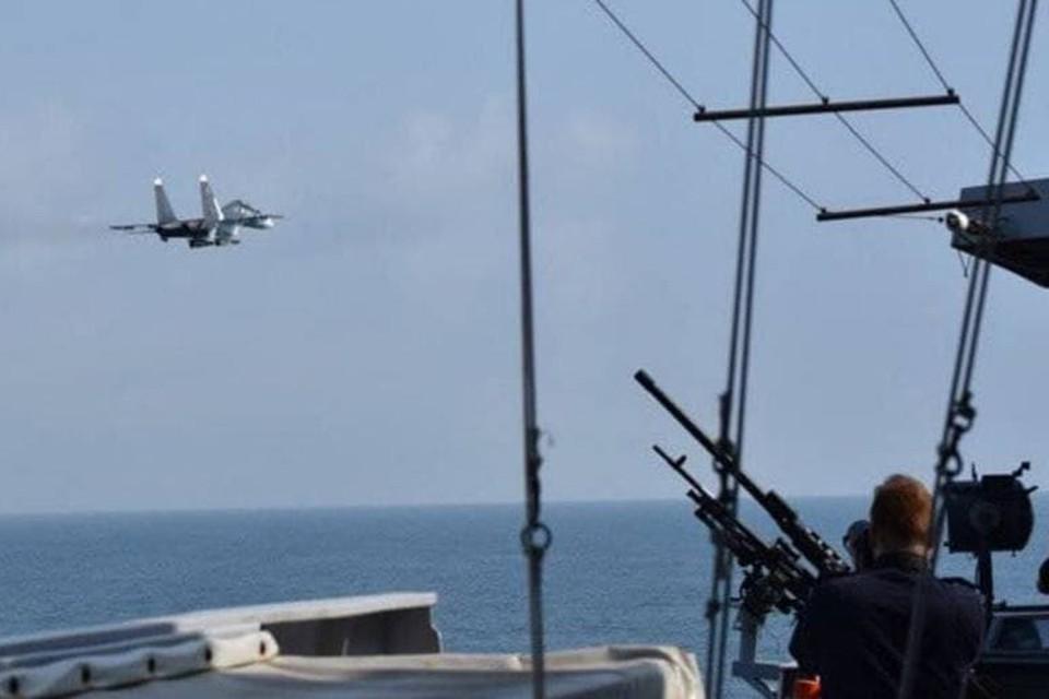 Похоже, в НАТО дали команду хотя бы задним числом организовать информационную атаку на российских летчиков.