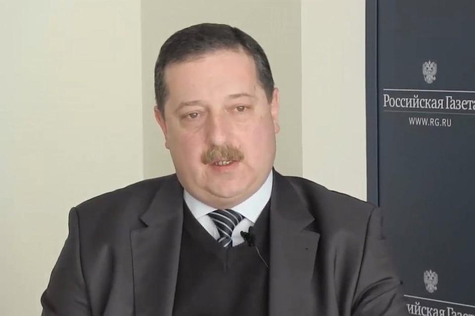 Бывший заместитель министра сельского хозяйства Леонид Холод. Фото: rg.ru