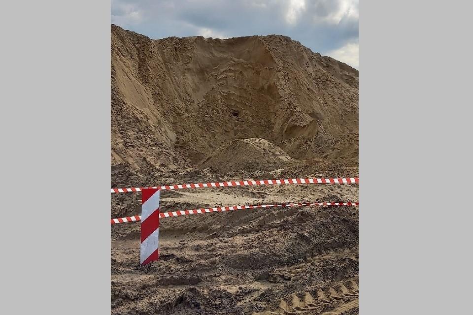 В Михайлове 10-летнего мальчика насмерть засыпало песком.