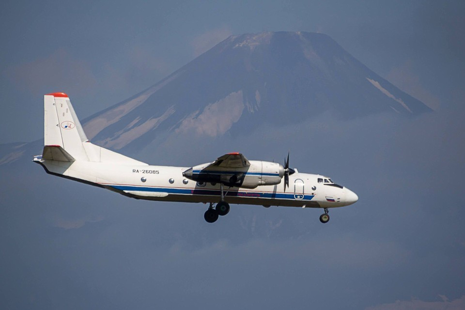Архивное фото разбившегося на Камчатке пассажирского самолета Ан-26. Фото: Александр Суров/ТАСС