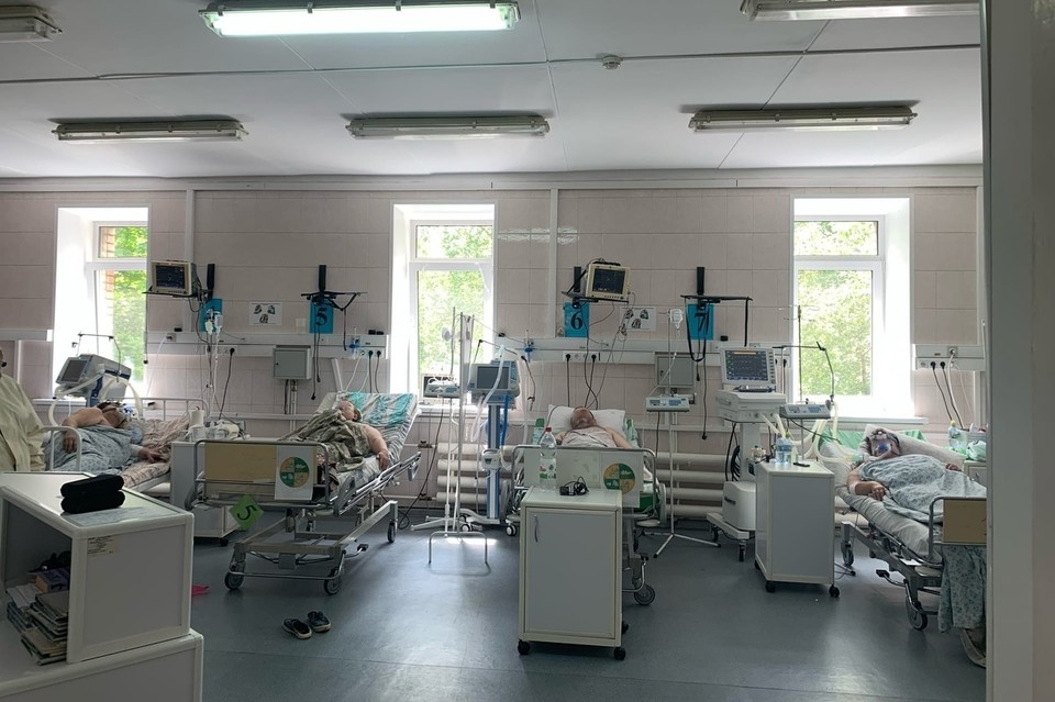 Среди пациентов реанимации красной зоны рязанской ОКБ не было ни одного вакцинированного.