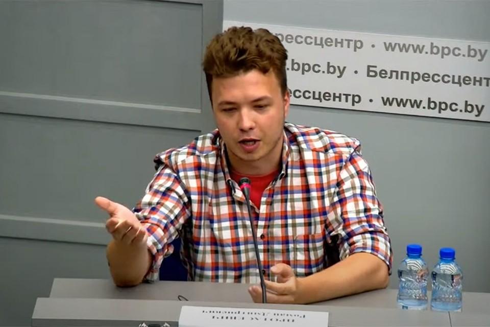 Протасевич признался, что живет в доме под Минском с Софией Сапегой.