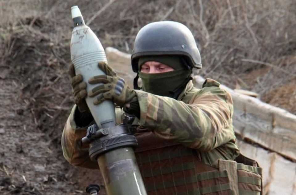 ВСУ нанесли артудар по Донецку. Фото: штаб ООС