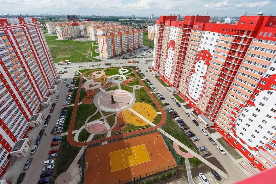 Новая площадка ЖК Матрешкин Двор. Фото предоставлено ГК «Вира-Строй».