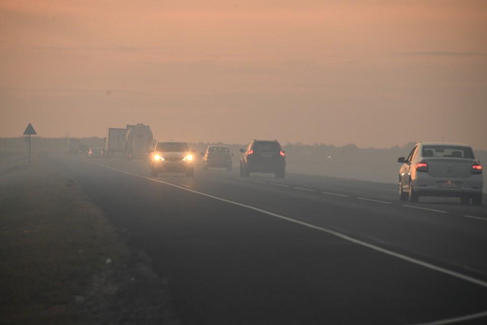 В администрацию Белорецкого района поступило множество сообщений о задымлении и запахе дыма