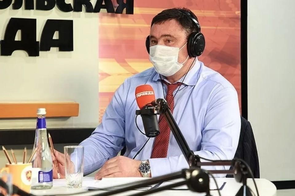 Мэр Иркутска рассказал о ситуации в городе после ливня на радио «Комсомольская правда»