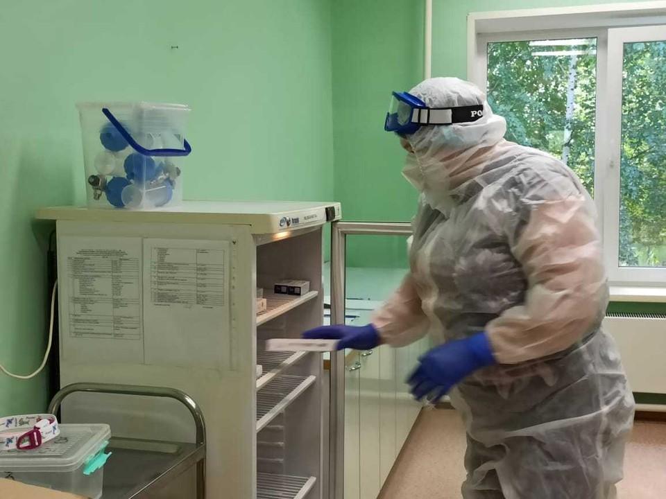 В Няганской больнице приготовили новые места для пациентов с COVID-19 Фото: Департамент здравоохранения ХМАО -Югры