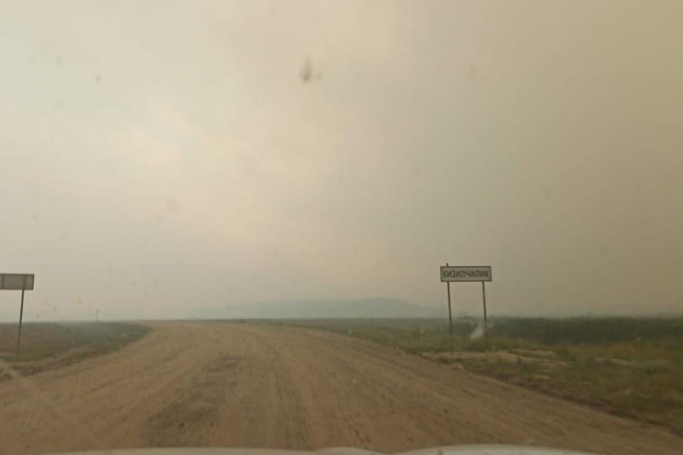 Пожары бушуют на юге Челябинской области со вчерашнего дня. Фото: t.me/kartalinka