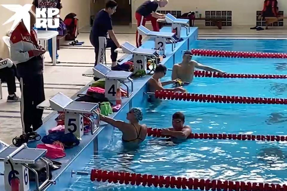 40 пловцов будут готовиться в Приморье к Олимпиаде до 22 июля. Источник: скриншот видео «КП»