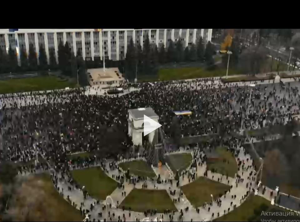 """Вот и Молдова оказалась в большом кино! (Фото: кадр из фильма """"Война будущего"""")."""