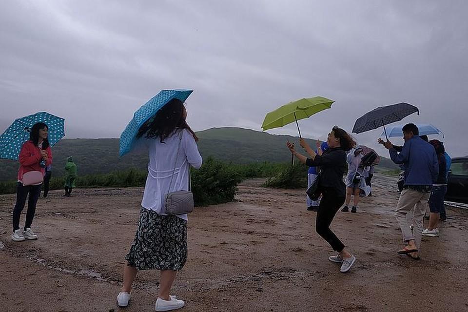 В отдельных районах краю передают дожди с грозами.