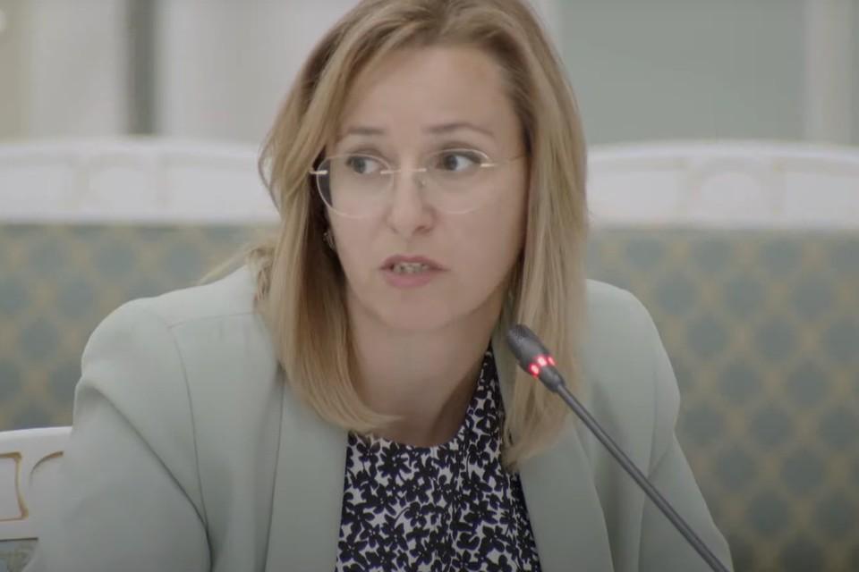 Министр культуры и архивного дела Сахалинской области Нонна Лаврик