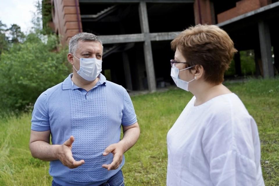 Нюта Федермессер: в Иркутской области есть команда, способная реализовать проект строительства детского хосписа.