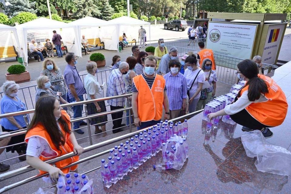 Вакцинация в столице продолжается! Фото: Facebook (Ion Ceban)