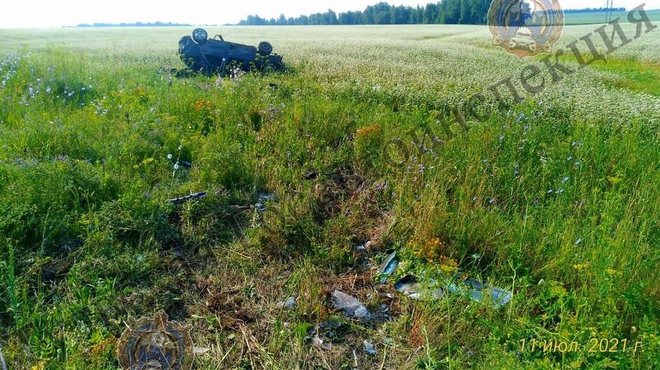 В Тульской области перевернулся «ВАЗ 2112»: погибла 16-летняя девушка