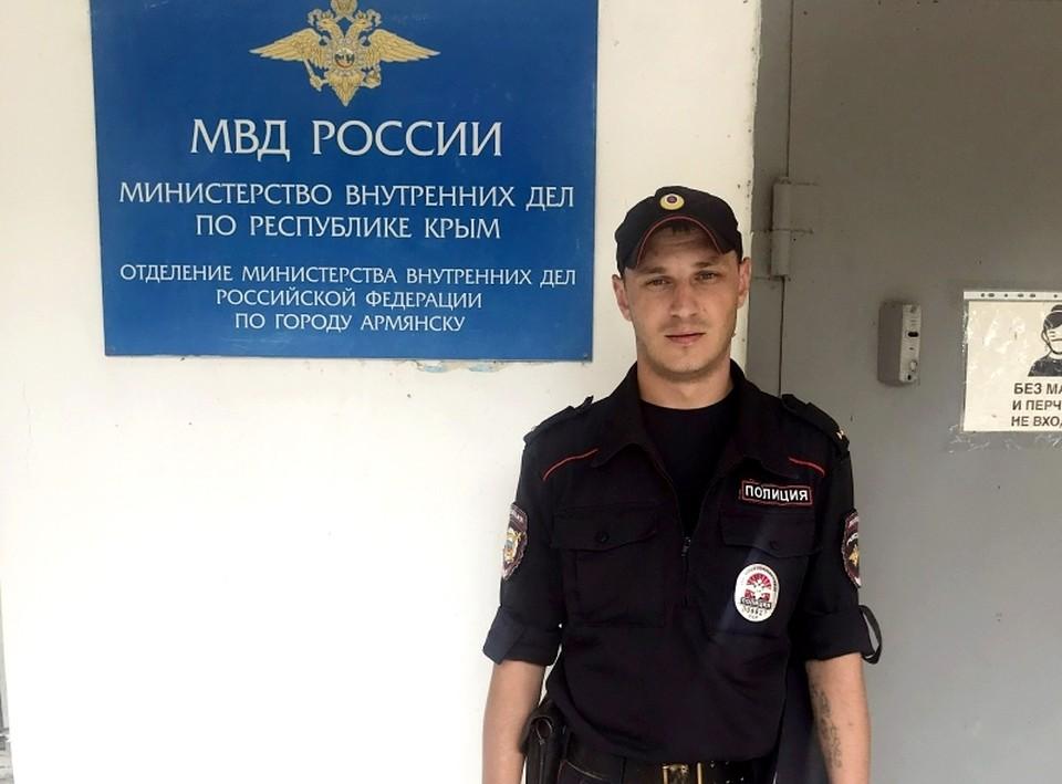 Участковый Юрий Шолдан сработал профессионально. Фото: 82.мвд.рф