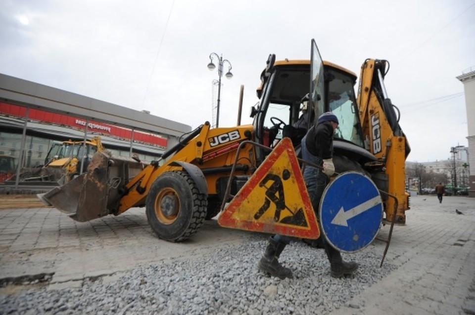 Автомобилисты будет объезжать ремонтные работы по улицам Московской, Циолковского, Серова и Авиационной