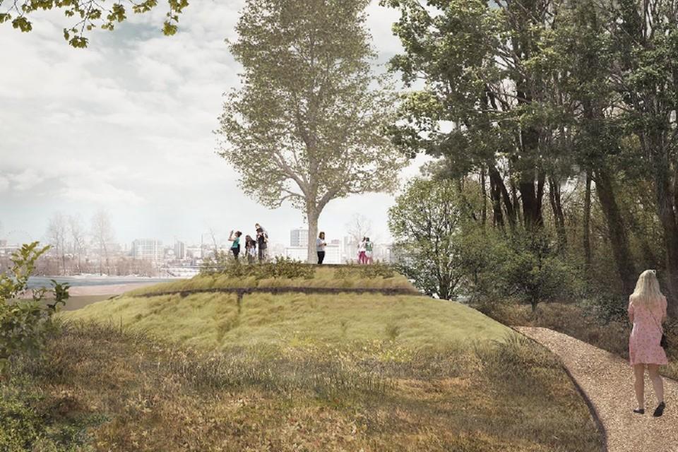 """Так будет выглядеть парк через год. Фото: ООО """"Адаптик-А"""""""