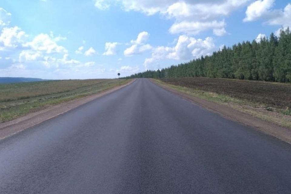 Дорога обеспечивает выход на федеральные трассы М-5 «Урал» и М-7 «Волга». Фото: mindortrans.tatarstan.ru