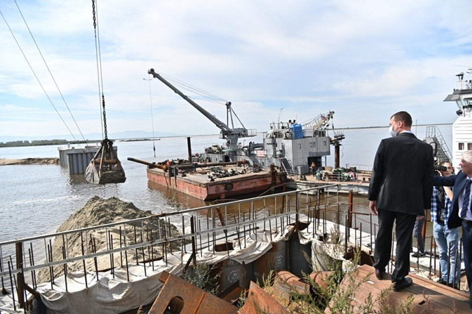 Михаил Дегтярев поблагодарил всех, кто участвовал к подготовке к отражению водной стихии