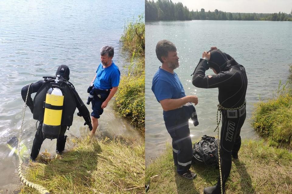 В Новосибирске водолазы нашли тело 25-летнего парня, утонувшего в озере «Старица». Фото: Аварийно-спасательной службе НСО