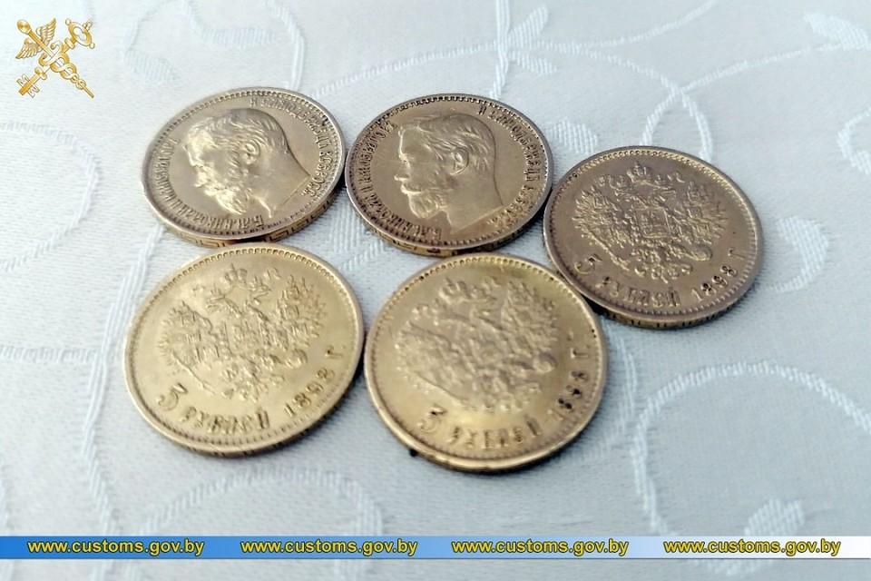 Ценные монеты отправили на экспертизу. Фото: ГТК