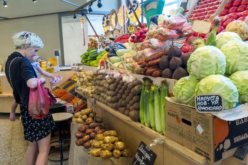 Сейчас те овощи, что были произведены в прошлом году, заканчиваются.