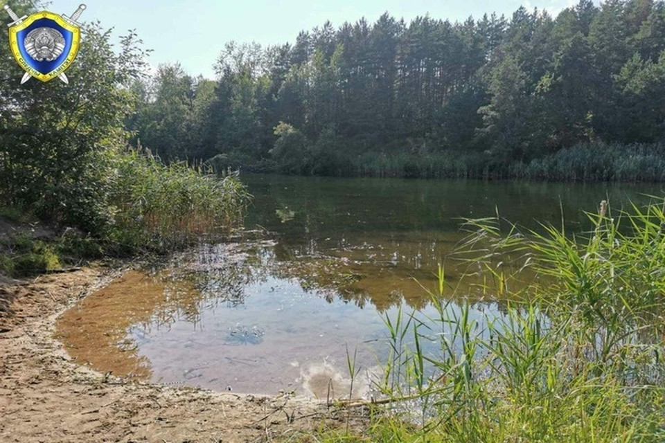 В Лиозно в водоеме утонула 13-летняя девочка. Фото: телеграм-канал Следственного комитета