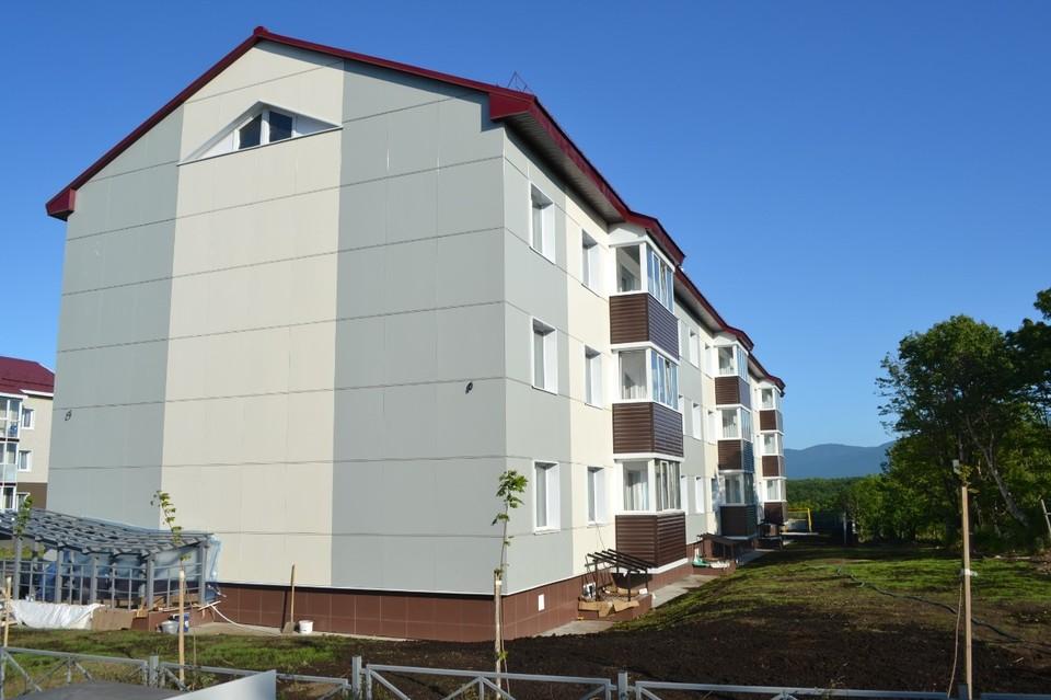 Новое трехэтажное здание на 27 квартир находится на улице Заводской, 9 «А»