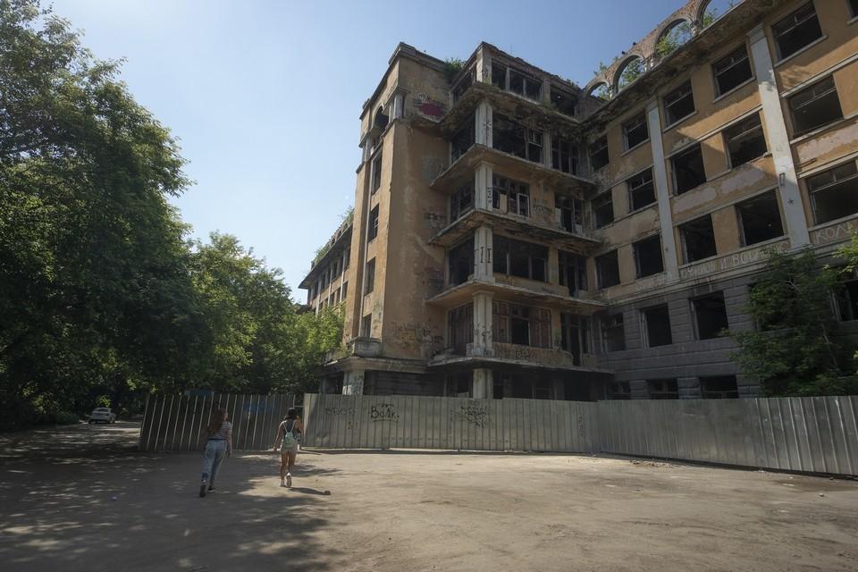 Больница в Зеленой роще закрылась еще в 2000 году