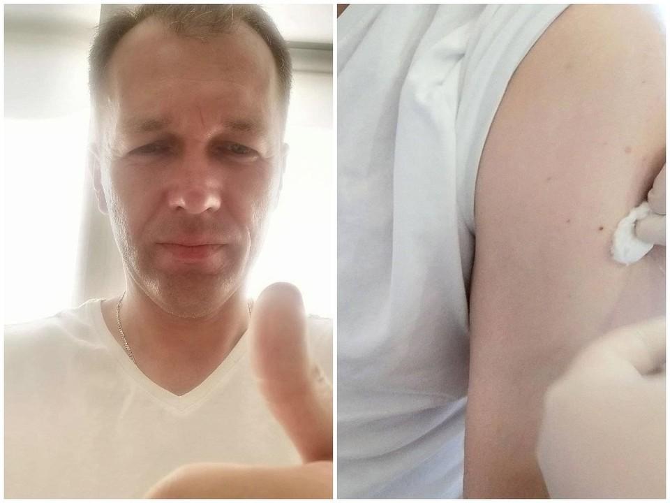 Дмитрий Ушаков привился «КовиВаком». Фото: instagram.com/dmitry.ushakov13