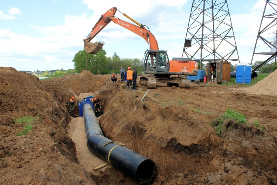 Реконструкцию водовода в Твери должны завершить в этом году.
