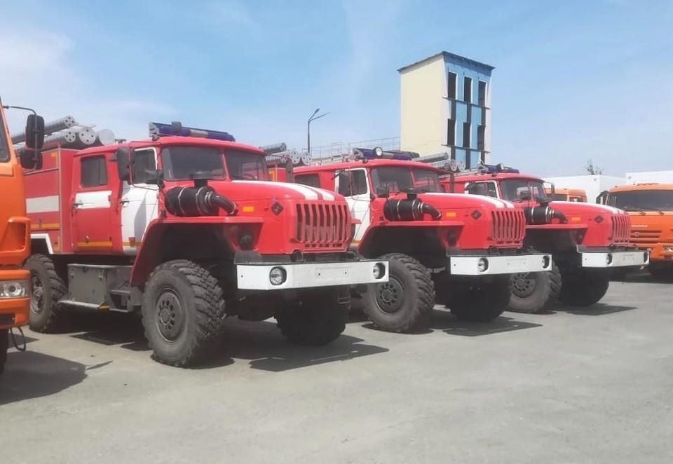 Автомобили приобретены на средства областного бюджета