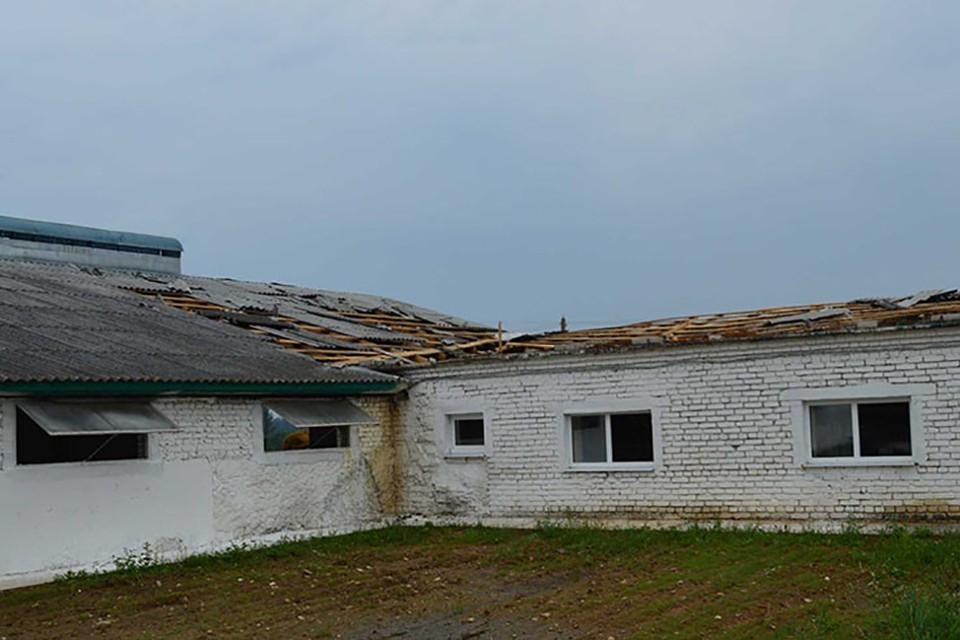 Из-за непогоды в Гродно и окрестностях повреждено более 50 зданий. Фото: МЧС
