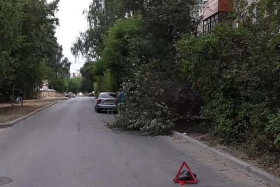 Ивановец собирал вишню, упал с дерева и попал под колеса машины. ФОТО: УМВД по Ивановской области