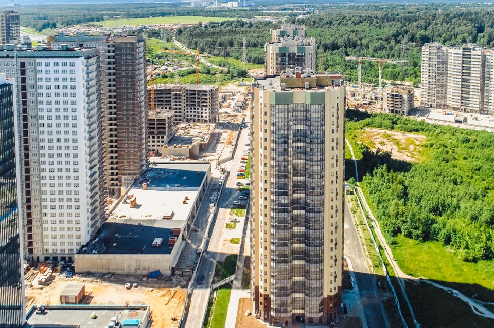 Холдинг «РСТИ» завершил строительство жилого комплекса «Три апельсина». Фото: пресс-служба Холдинга «РСТИ».