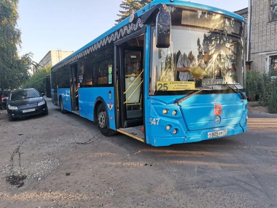По улицам Тулы ездят неисправные автобусы
