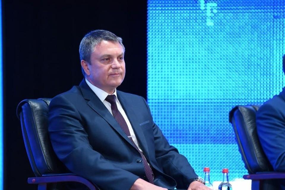 Руководитель Республики рассказал, что вчера в Луганске прошел форум граждан России. Фото: пресс-служба Главы ЛНР