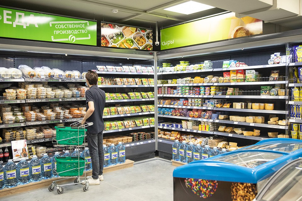 Яйца, минтай и голландский сыр подешевели: как менялись цены на продукты в «Слате». Фото: ООО «Маяк»
