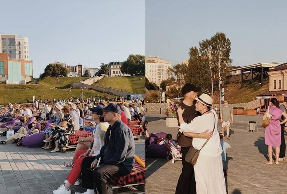 На набережной Тюмени прошел праздничный концерт ко Дню семьи, любви и верности