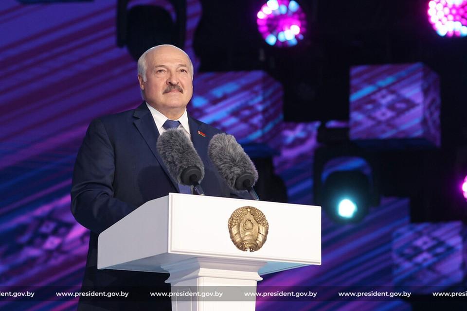 Лукашенко 15 июля открыл XXX международный фестиваль искусств «Славянский базар в Витебске». Фото: president.gov.by